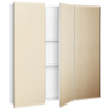 Style Selections 30.25-in x 29.75-in Surface Medicine Cabinet