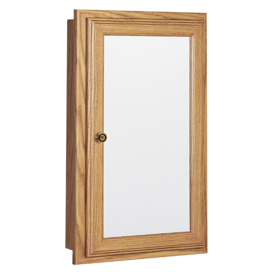 Shop style selections h x w oak for Medicine cabinets