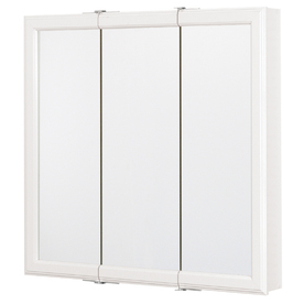 ESTATE by RSI 30-1/4-in White Surface Mount Medicine Cabinet