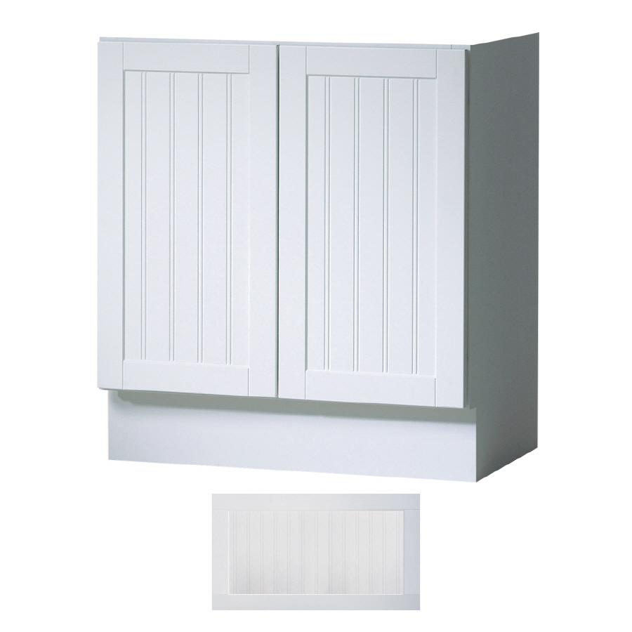 Shop Insignia Providence Satin White Transitional Bathroom Vanity Common 30 In X 21 In Actual