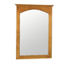 "Style Selections 31""H x 22""W Premier Cinnamon Rectangular Bath Mirror"