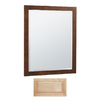 Insignia 32-in H x 26-in W Insignia Natural Maple Rectangular Bathroom Mirror