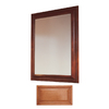 Insignia 36-in H x 30-in W Insignia Cinnamon Rectangular Bathroom Mirror