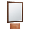 Insignia 32-in H x 26-in W Insignia Cinnamon Rectangular Bathroom Mirror