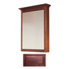Insignia Insignia 22.75-in x 30.5-in Burgundy Maple Surface Mount Medicine Cabinet