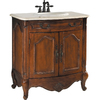 ESTATE by RSI 31-in Spiced Cognac Colonial Single Sink Bathroom Vanity with Top