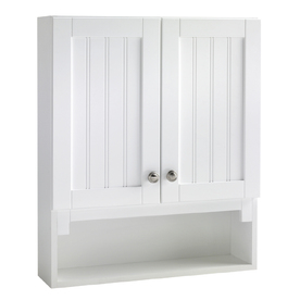 ESTATE by RSI Boardwalk 28-in H x 23-1/4-in W x 6-1/2-in D Storage Cabinet