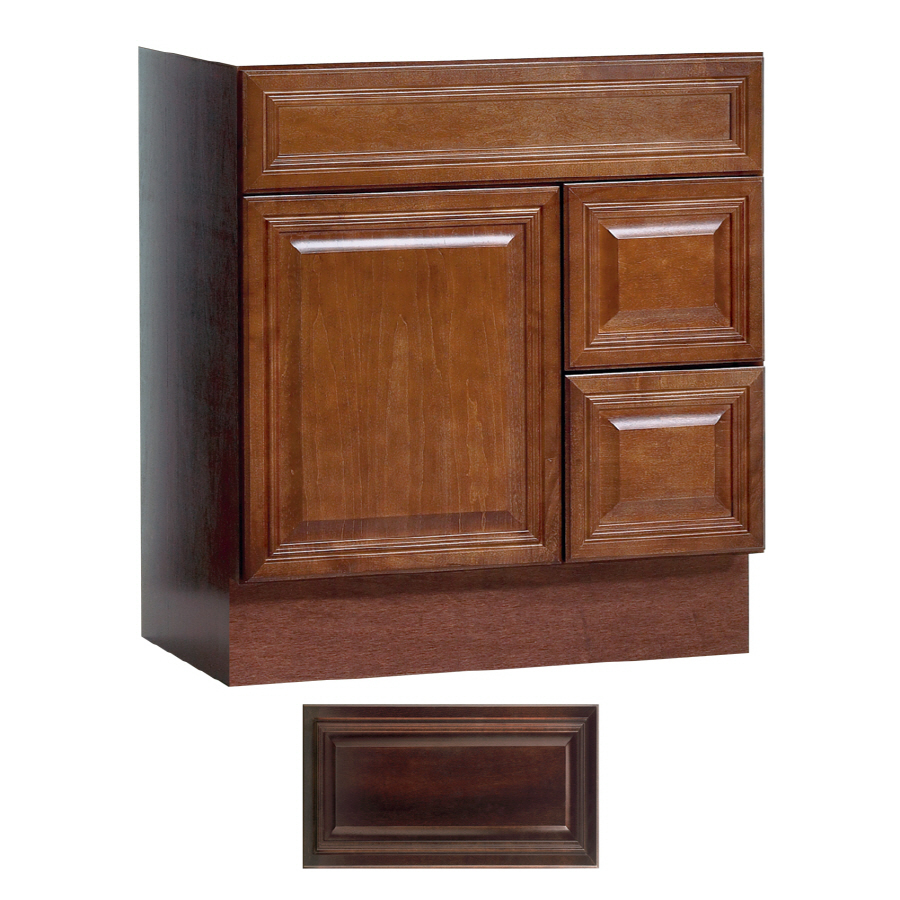 Shop Insignia Ridgefield Java Traditional Bathroom Vanity Common 30 In X 21 In Actual 30 In