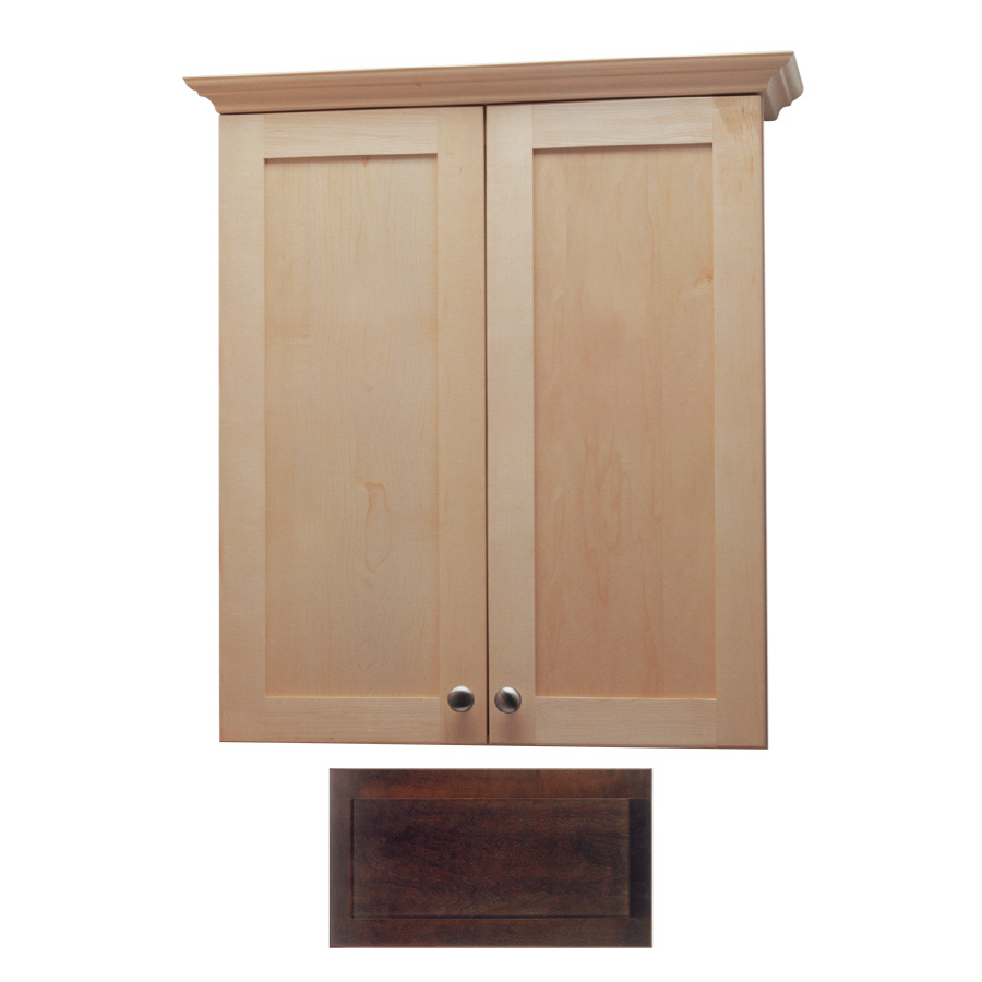 crest wall cabinet common 24 in actual 24 in at