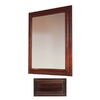Insignia 36-in H x 30-in W Insignia Java Rectangular Bathroom Mirror