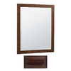 Insignia 32-in H x 26-in W Insignia Java Rectangular Bathroom Mirror