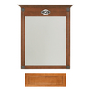 Architectural Bath 35-1/4-in H x 27-in W Remington Cinnamon Rectangular Bathroom Mirror