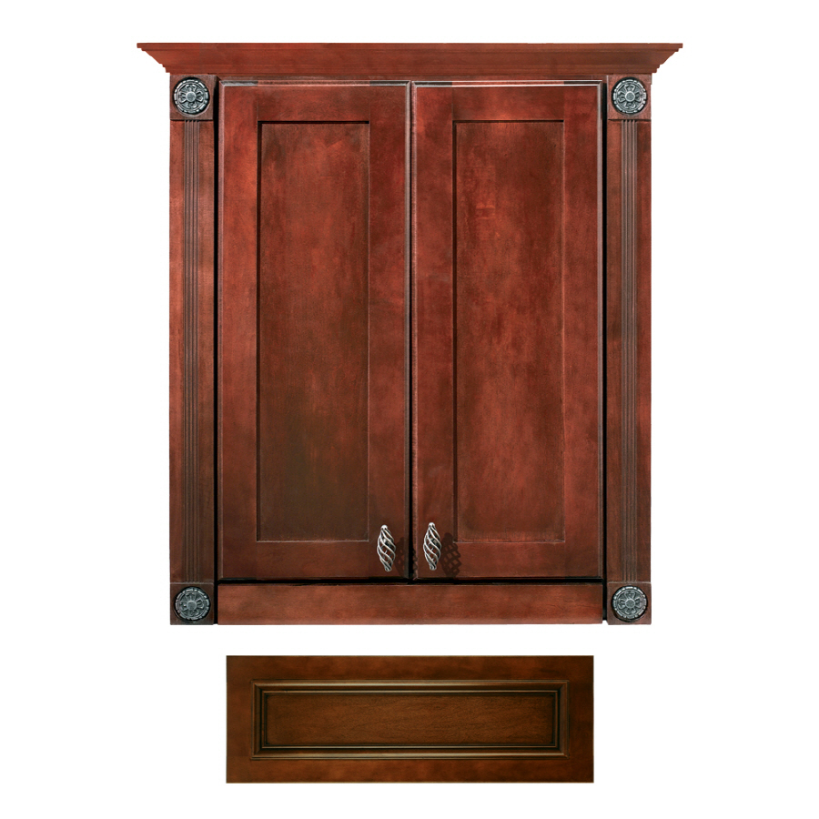 lowes bathroom storage 28 images shop estate by rsi With kitchen cabinets lowes with vintage cameo wall art