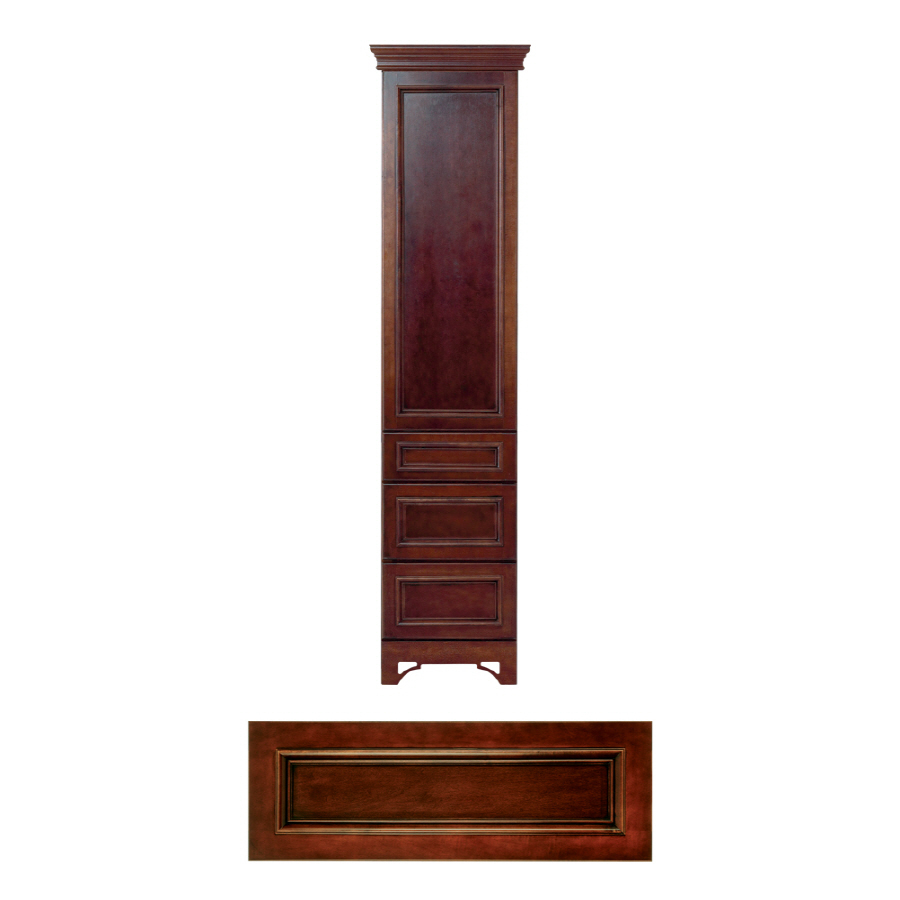 Shop Architectural Bath Savannah Linen Cabinet (Common: 18-in; Actual: 18-in) At Lowes.com