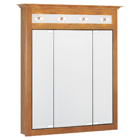 Project Source 31-3/4-in Medium Surface Mount Medicine Cabinet