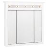 """Project Source 37-1/2"""" Wood Surface Mount Medicine Cabinet"""