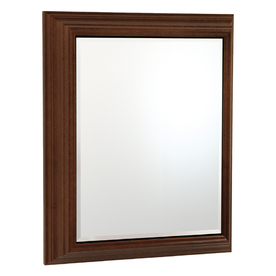 ESTATE by RSI 22.5-in x 27.5-in Rectangle Surface Mirrored Wood Medicine Cabinet
