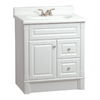 ESTATE by RSI Southport White Casual Bathroom Vanity (Actual: 30-in x 21-in)