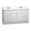 ESTATE by RSI Southport White Casual Bathroom Vanity (Actual: 60-in x 21-in)