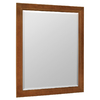 ESTATE by RSI Wheaton 28.5-in W x 34.5-in H Chestnut Rectangular Bathroom Mirror
