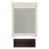Architectural Bath 36-3/4-in H x 29-1/2-in W Tuscany Java Rectangular Bathroom Mirror