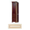 Architectural Bath Vanilla/Chocolate Vanity Flush-Fit End Panel