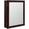 ESTATE by RSI Estate 15-1/4-in x 19-1/4-in Java Particleboard Surface Mount Medicine Cabinet