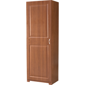 ESTATE by RSI 23.75-in W x 70.375-in H x 16.625-in D Cognac Linen Cabinet