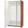 ESTATE by RSI 38.5-in W x 70.375-in H x 20.75-in D Cognac Linen Cabinet