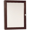 Style Selections 18-in Dark Surface Mount Medicine Cabinet