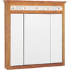Project Source 37-1/2-in Medium Lighted Surface Mount Medicine Cabinet