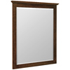 Style Selections 34-1/2-in H x 28-1/2-in W Liberton Cocoa Rectangular Bathroom Mirror
