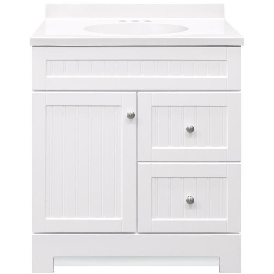 Additional images - Lowes single sink bathroom vanity ...