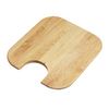 Elkay 16-3/4-in L x 15-in W Wood Cutting Board