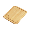 Elkay 1 13.5-in L x 17-in W Wood Cutting Board