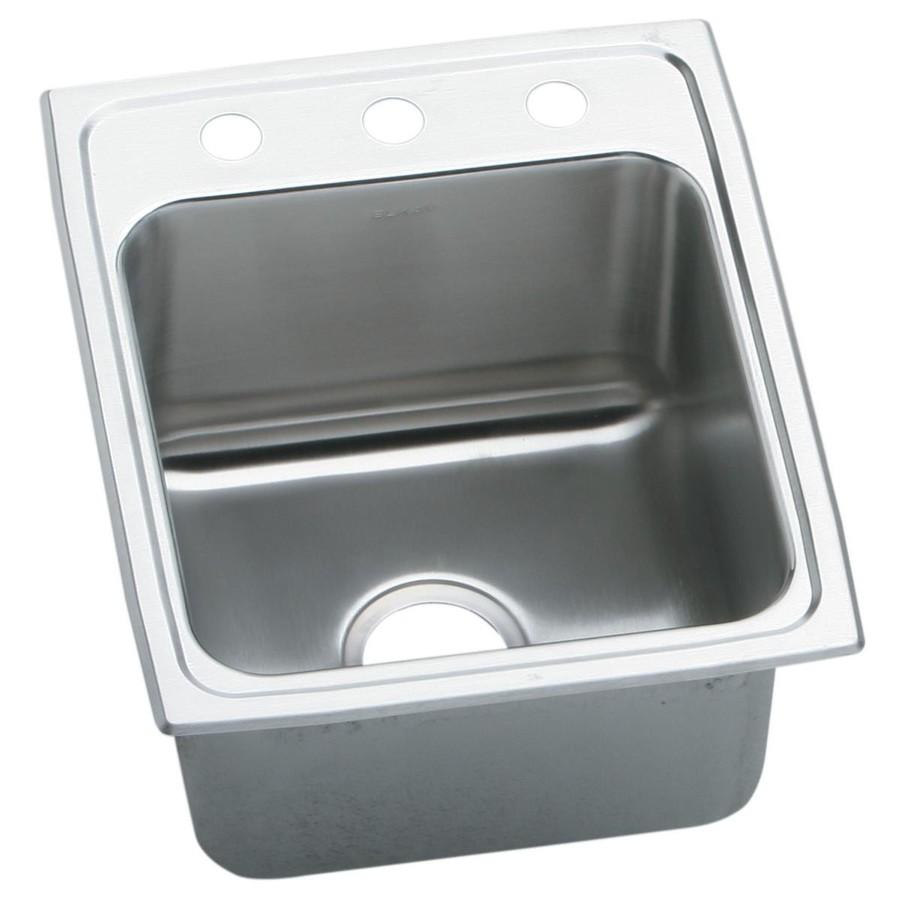 Stainless Steel Drop In Utility Sink : ... -Gauge Single-Basin Drop-In Stainless Steel Kitchen Sink at Lowes.com