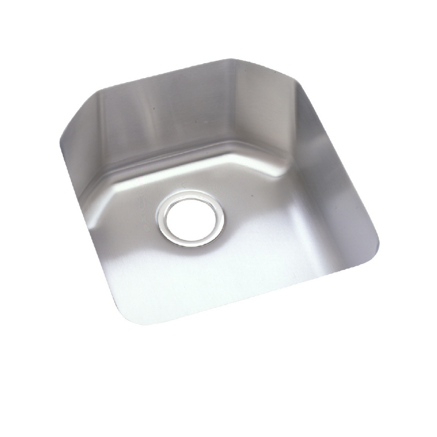 Elkay Stainless Steel Kitchen Sinks : ... Single-Basin Stainless Steel Undermount Kitchen Sink at Lowes.com