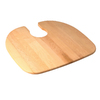 Elkay 21-7/8-in L x 19-1/4-in W Wood Cutting Board