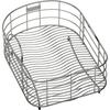 Elkay 10.5-in W x 14-in L x 8-in H Metal Dish Rack and Drip Tray
