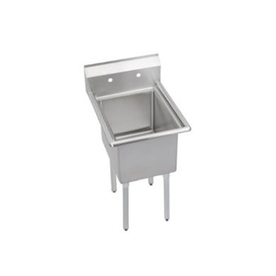 Stainless Steel Utility Sink Freestanding : ... Satin Freestanding Stainless Steel Utility Tub Utility Sink with Drain
