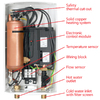AquaPower AQE 12 240-Volt 12-kW 1-Year Limited Commercial/Residential Tankless Electric Water Heater