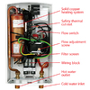 AquaPower AQC 8-2 240-Volt 7.2-kW 1-Year Limited Commercial/Residential Indoor Point of Use Tankless Electric Water Heater