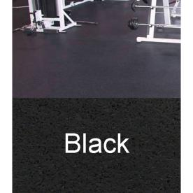 Amorim Rubber 4&#039; x 10&#039; Mat Flooring (Color: Black)