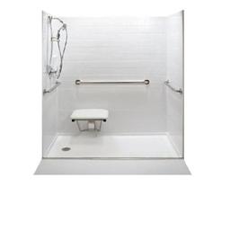Shop American Walk In Tubs 60 L X 32 W White Shower Floor