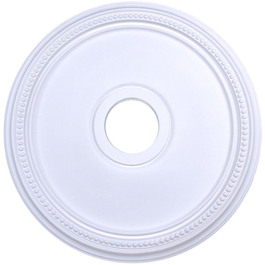 Ceiling Rosettes At Lowe S : Shop evertrue ceiling medallion at lowes