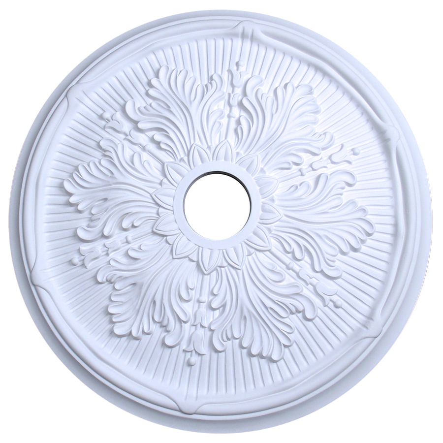 Ceiling Light Medallions Lowes : Evertrue ceiling medallion at lowes