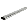 "American Metal Products 5"" Galvanized Steel Oval Gas Vent Pipe"