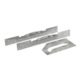American Metal Products Galvanized Steel Oval Installation Kit 40BW