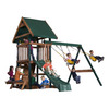 Heartland Commander's Quarters Residential Wood Playset with Swings