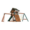 Heartland Playsets Captains Loft B Residential Wood Playset with Monkey Bars
